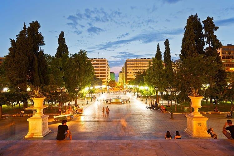 Syntagmaplein, Athene