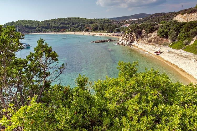 Tristinikouda Beach, Sithonia