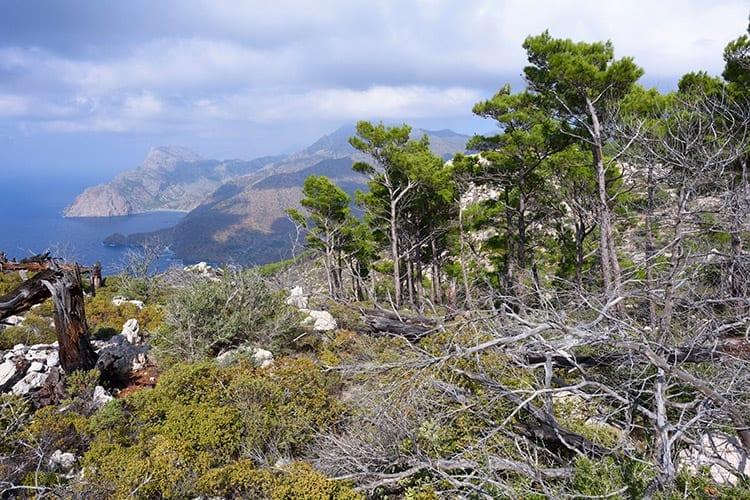 Karpathos landschap