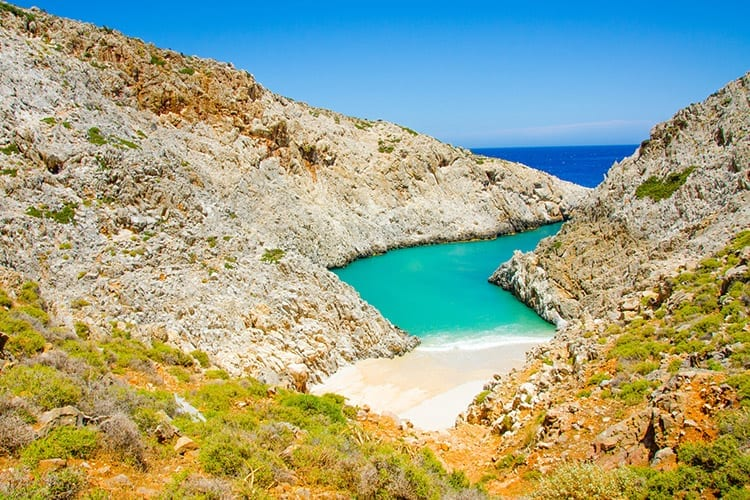 Zuidkust van Kreta