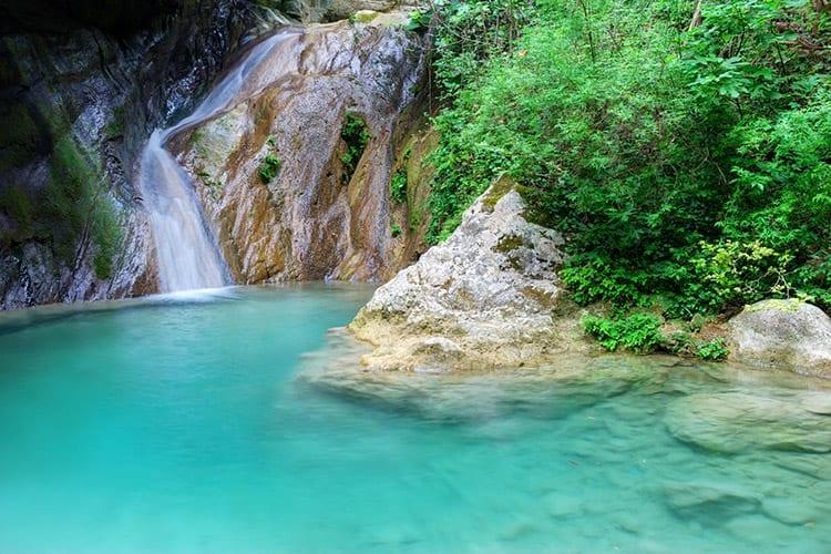 Nidri watervallen