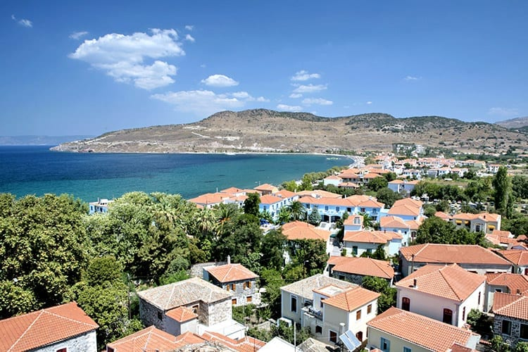 Pètra, Lesbos