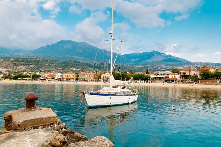 Stoupa, Peloponnesos