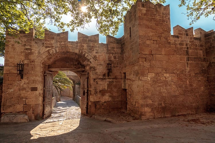 Middeleeuwse vestingsmuren, Rhodos-stad