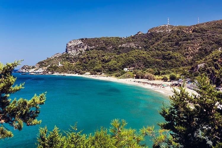 Potami strand, Samos