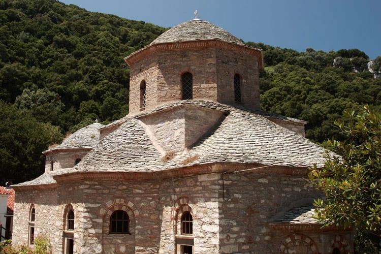Evangelistria klooster, Skiathos