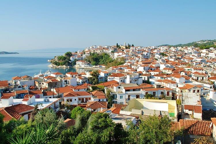 Skiathos-stad