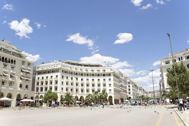 Aristoteles plein, Thessaloniki