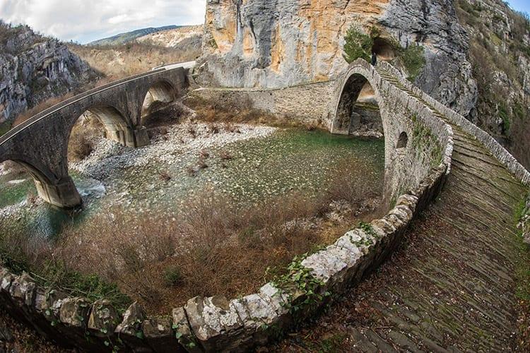Kokoris brug, Zagorohoria
