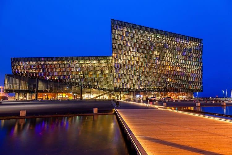 Harpa Concert Hall, Reykjavík