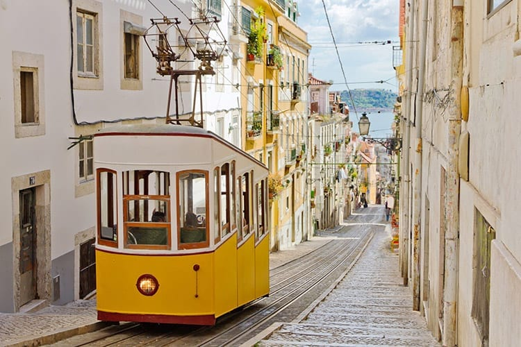 Gloria kabelbaan Lissabon
