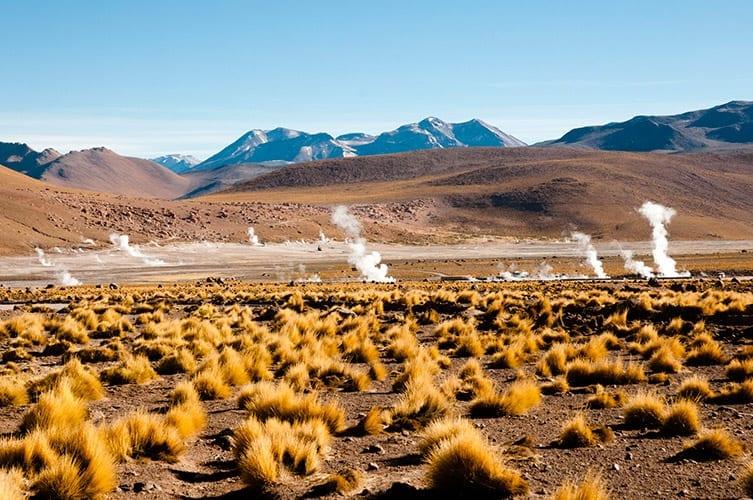 Tatio-geisers, Atacama woestijn