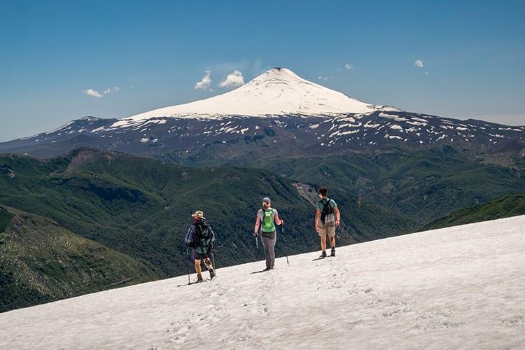 Quetrupillan vulkaan bij Pucón