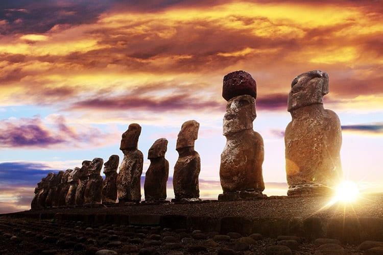 Moai, Paaseiland