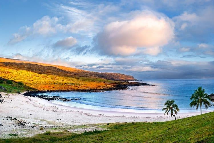 nakena strand op Paaseiland