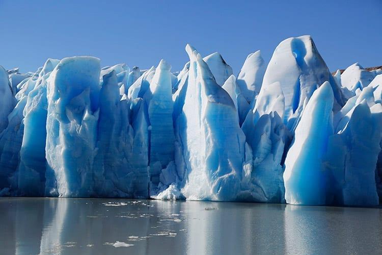 Grey gletsjer, Torres del Paine