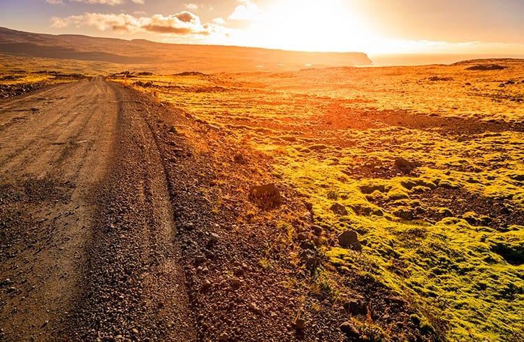 Westfjorden, IJsland