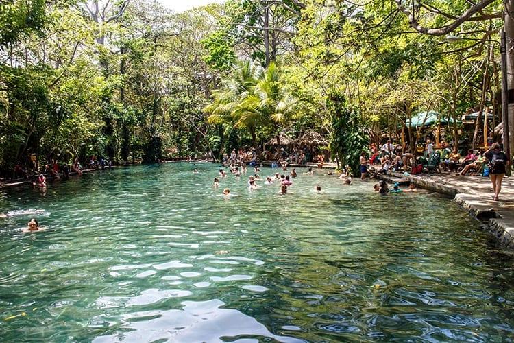 El Ojo de Agua, Isla de Ometepe