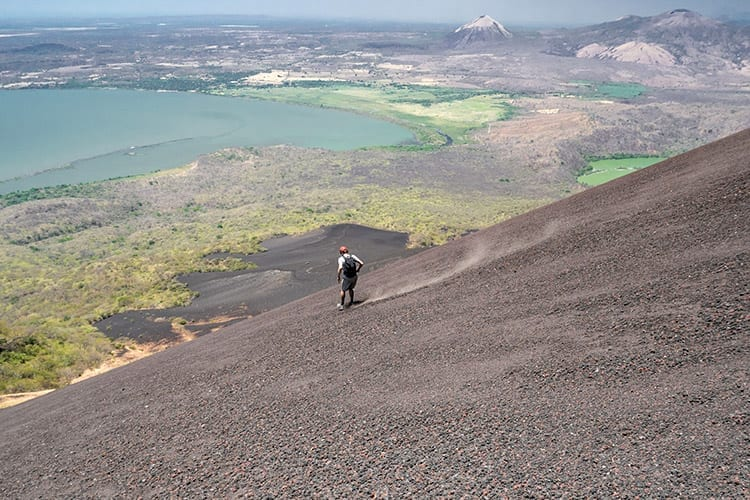 Momotombo vulkaan, Nicaragua