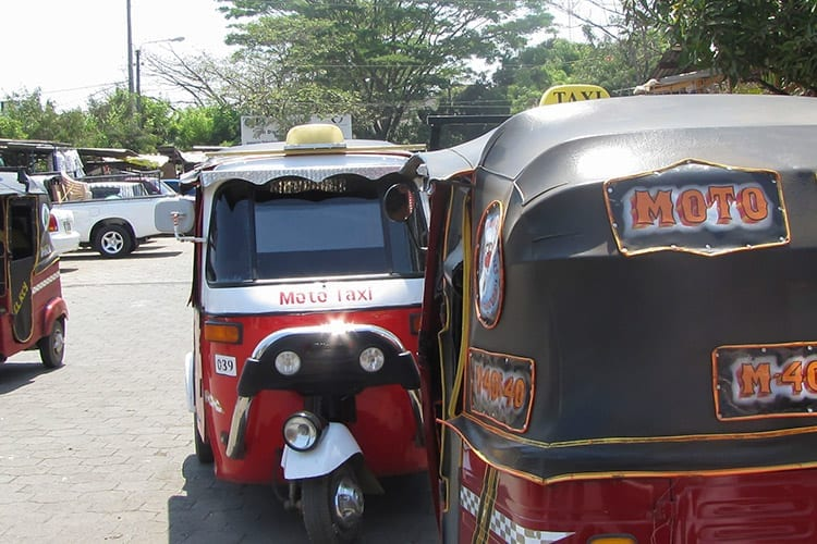 Lokaal vervoer in Managua