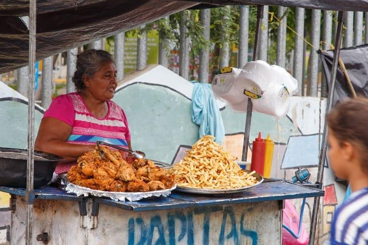 Street food, Managua