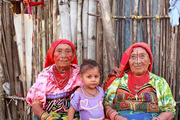 Kuna Yala indianen