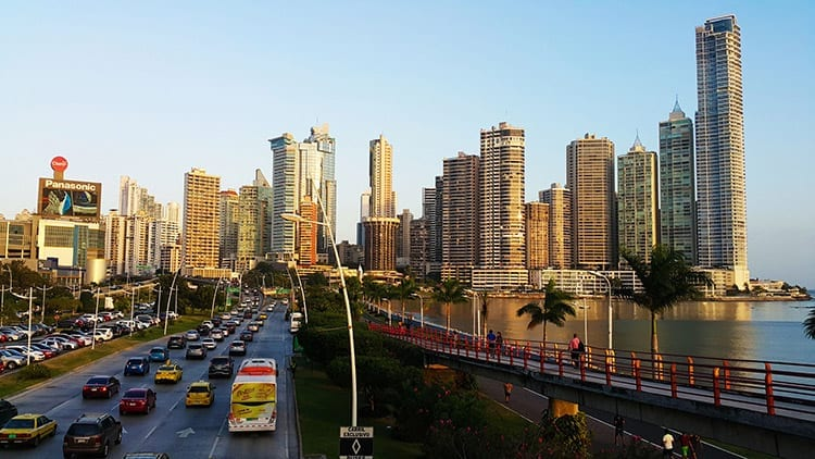 Cinta Costera, Panama-Stad
