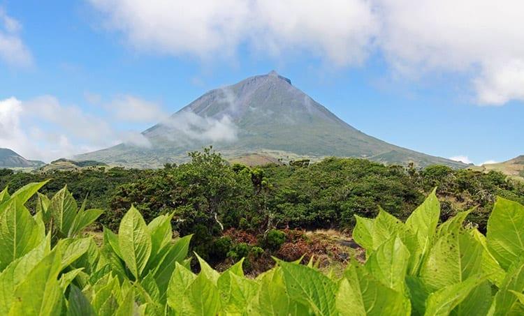 Ponta do Pico vulkaan
