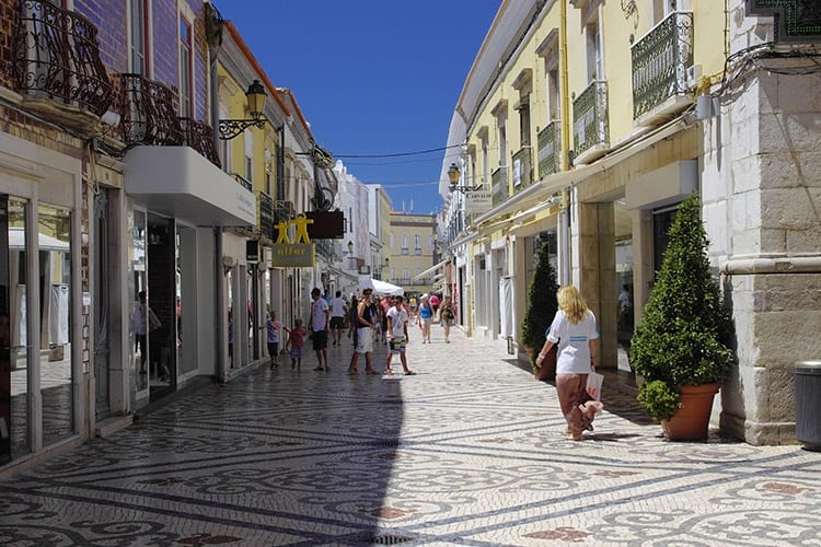 Winkelen in Faro