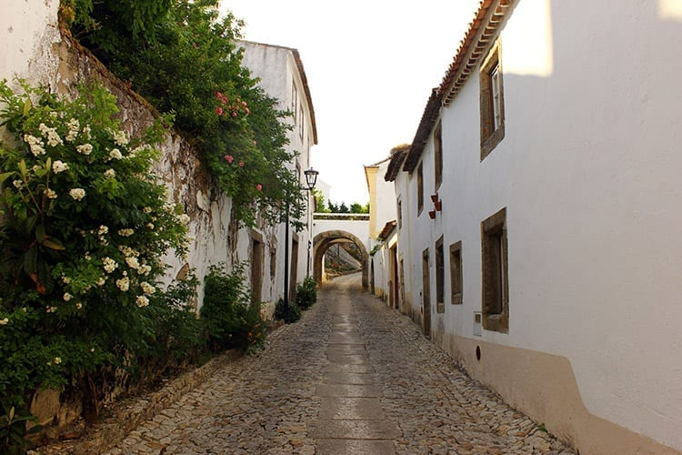 Straatje in Marvão