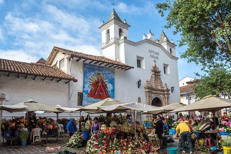 Bloemenmarkt, Cuenca