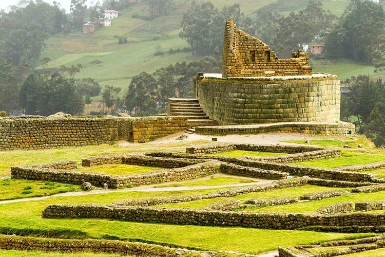 Inca-ruïne Ingapirca