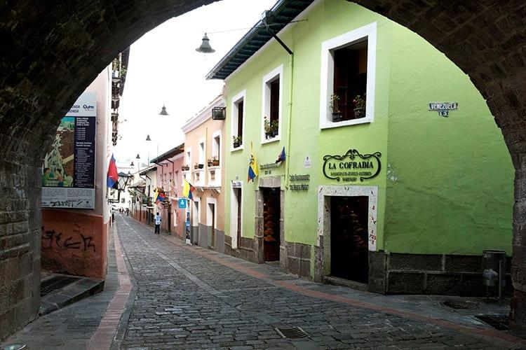 Calle La Ronda, Quito