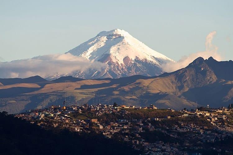 Cotopaxi-vulkaan