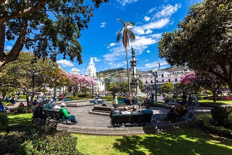 Plaza de la Independencía, Quito