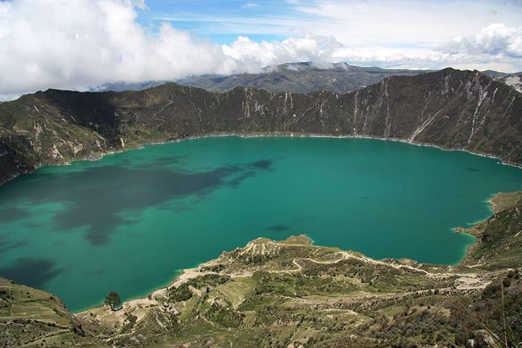 Quilotoa meer