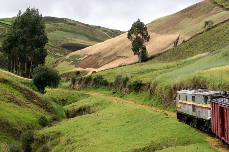Treinrit van Riobamba naar Sibambe