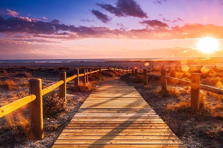 Strand bij Almeria