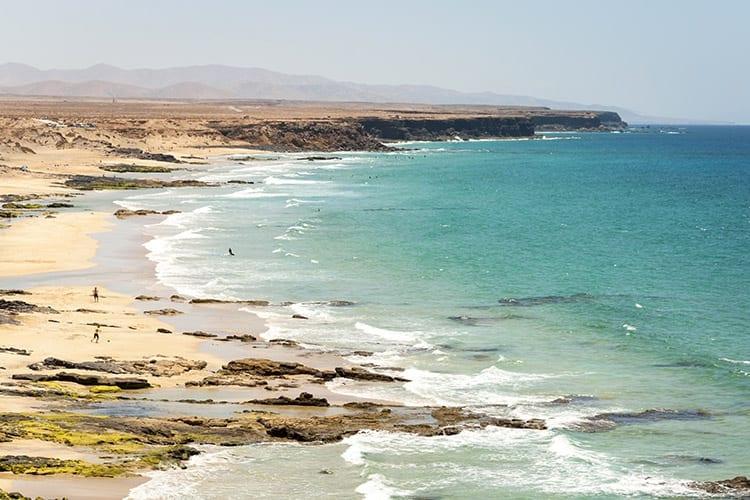 Strand bij El Cotillo, Fuerteventura