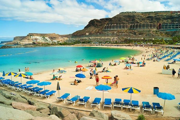 Amadores strand, Gran Canaria