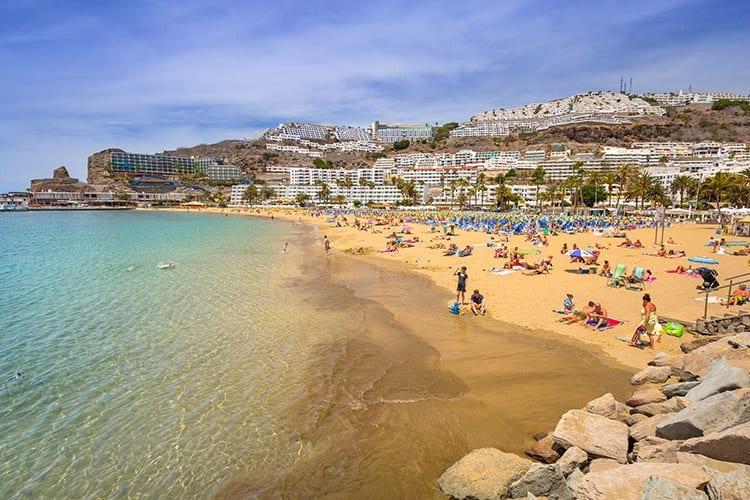 Puerto Rico strand, Gran Canaria