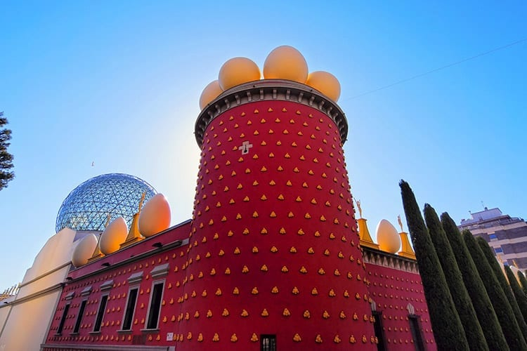 Teatro Museo Dalí in Figueres