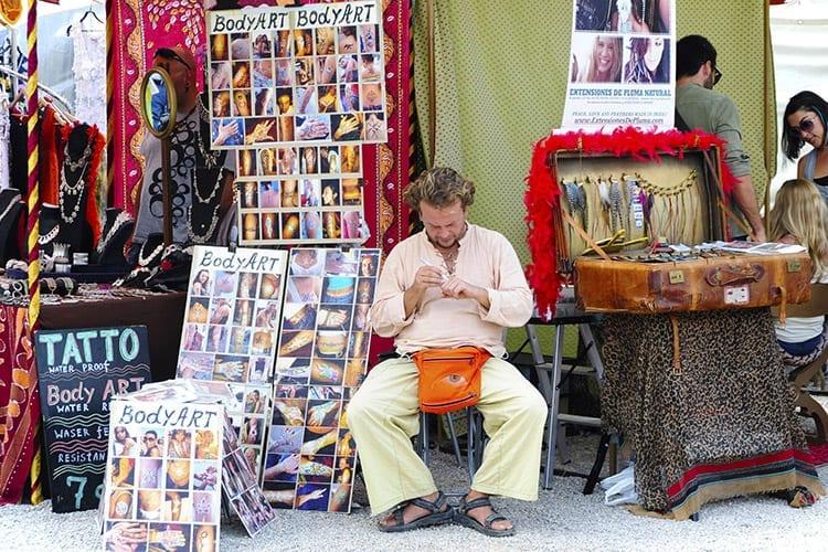 Hippiemarkt Ibiza