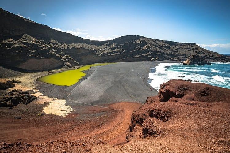 Lago Verde, Lanzarote