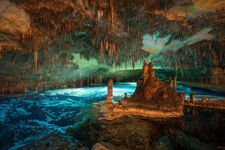Porto Christo grotten