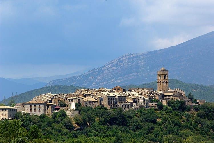 Aínsa, Spaanse Pyreneeën