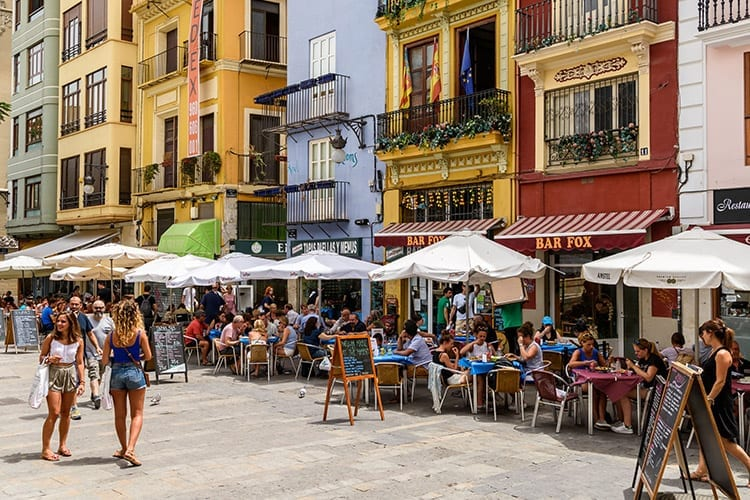 Valencia winkelen