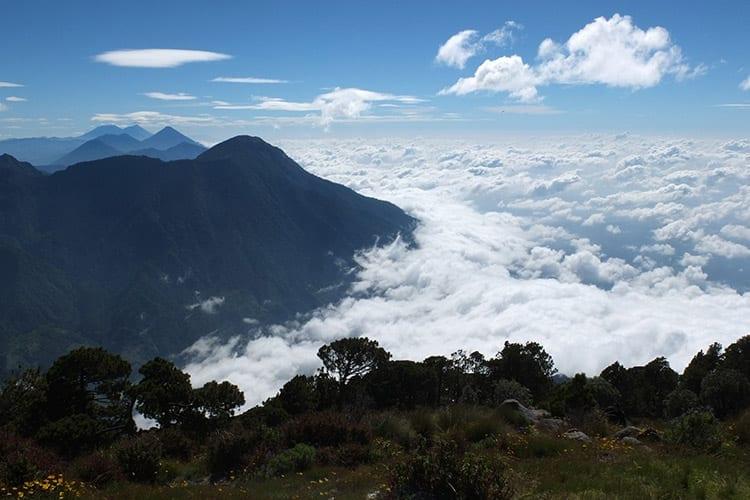 Santa Maria vulkaan, Guatemala