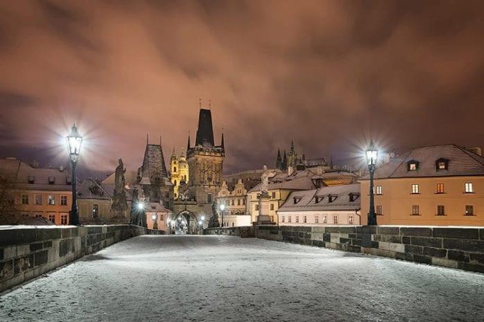Stedentrip Praag winter