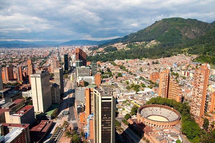 Straten van Bogota